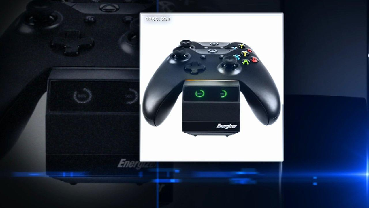 XBOX ONE battery chargers recalled due to burn hazard