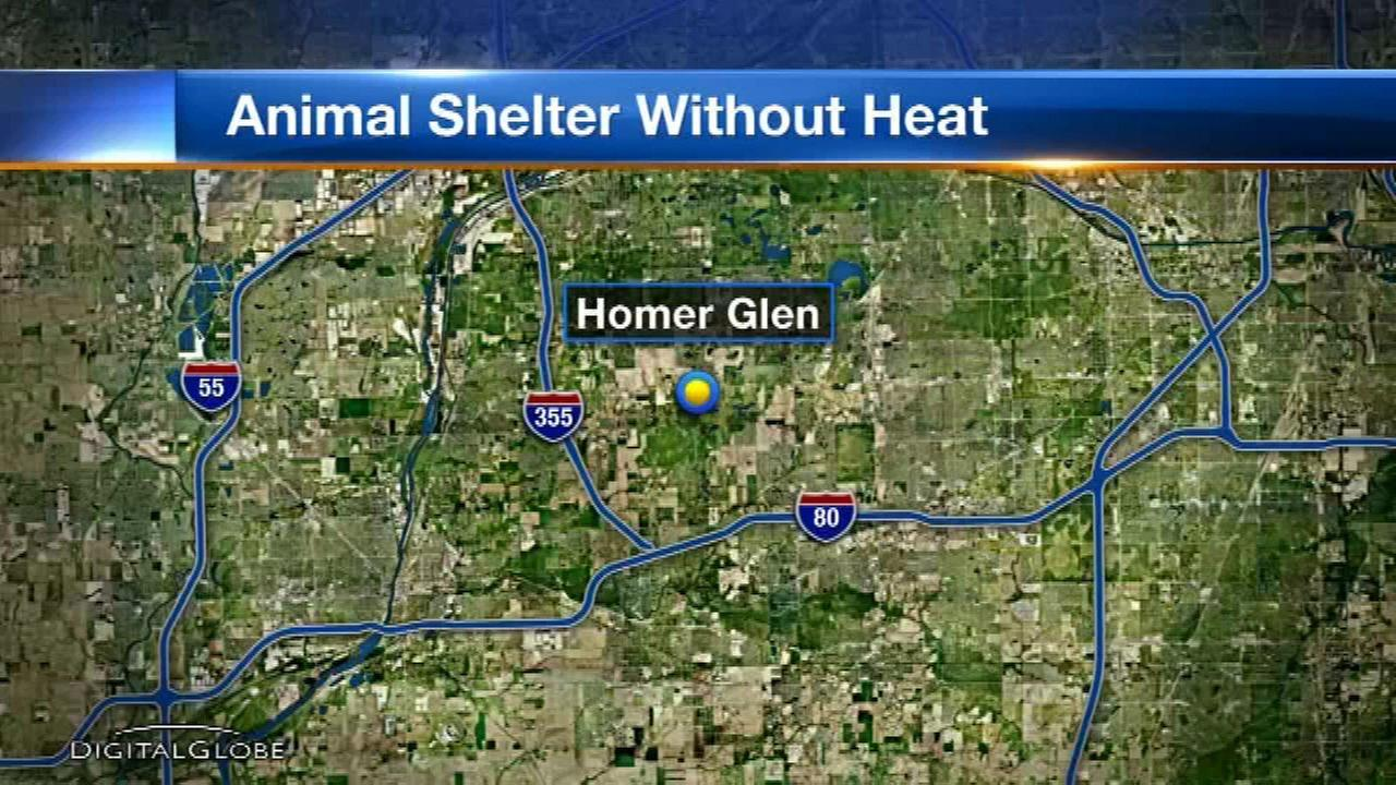 Homer Glen animal shelter gets new furnace after not having heat