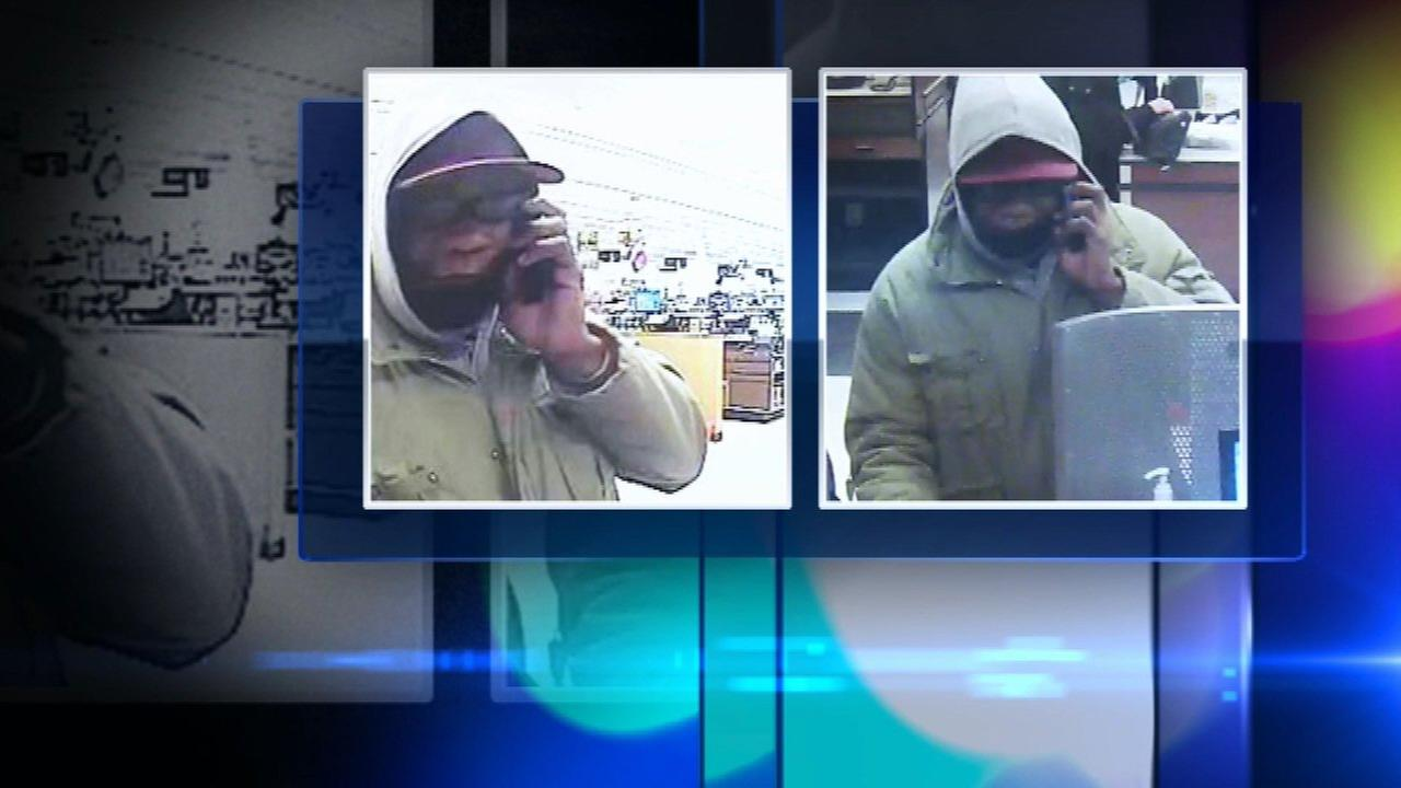 Man suspected in 7 bank robberies strikes again in Stickney