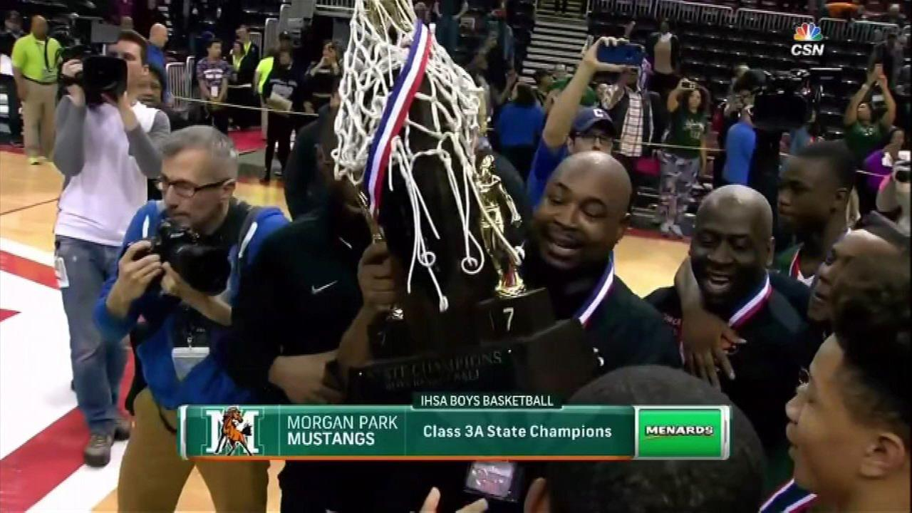 Whitney Young, Morgan Park boy's basketball teams win state titles