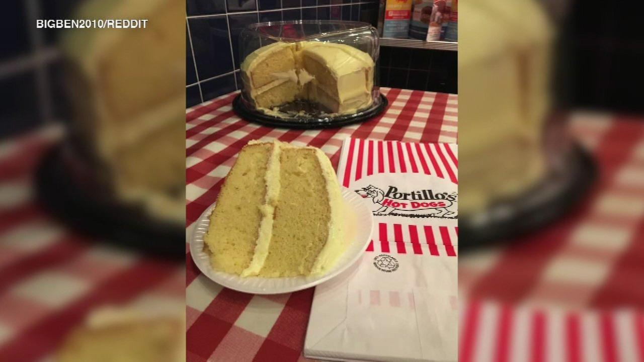 Portillo's lemon cake fan asks for help finding beloved treat