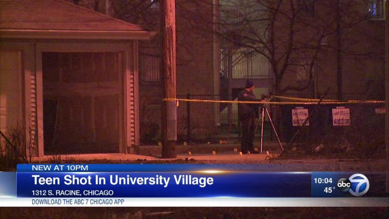 Boy, 16, shot in University Village