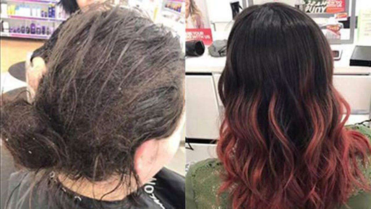 A salon worker in Oshkosh, Wisconsin, shared how she gave a client facing a debilitating mental illness a life-changing makeover.