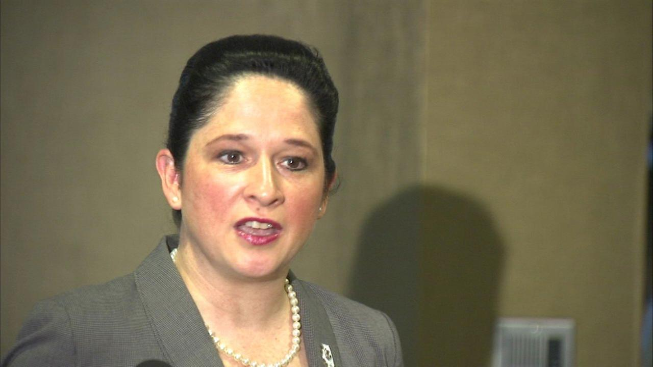 Comptroller Susana Mendoza came out swinging on Tuesday, blaming Governor Bruce Rauner for the states financial problems.