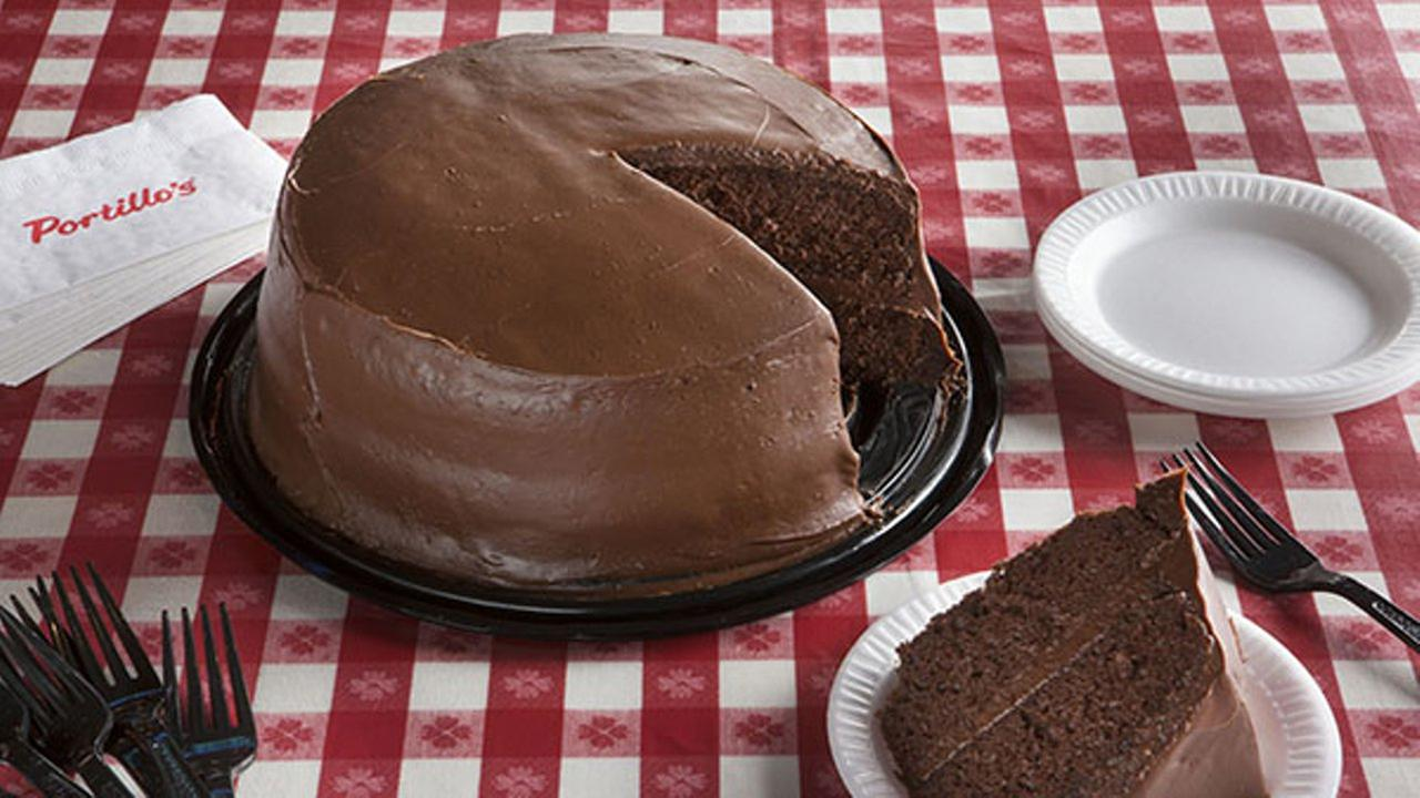 Portillos Chocolate Cake  Cents