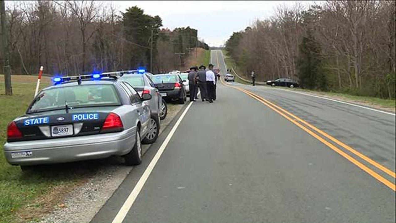 Two children were killed as they ran across the street to their school bus Thursday morning in Buckingham County, according to Virginia State Police.