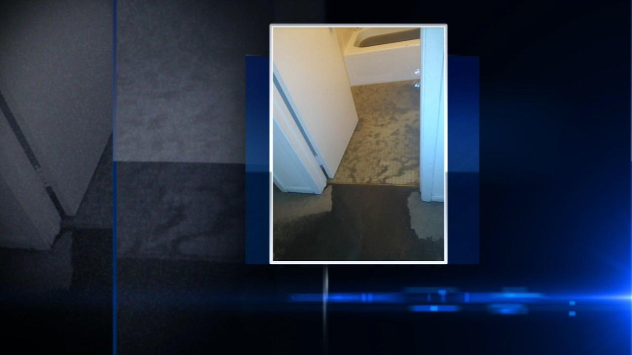 Hinsdale apartment residents say sewage backup forcing them from homes