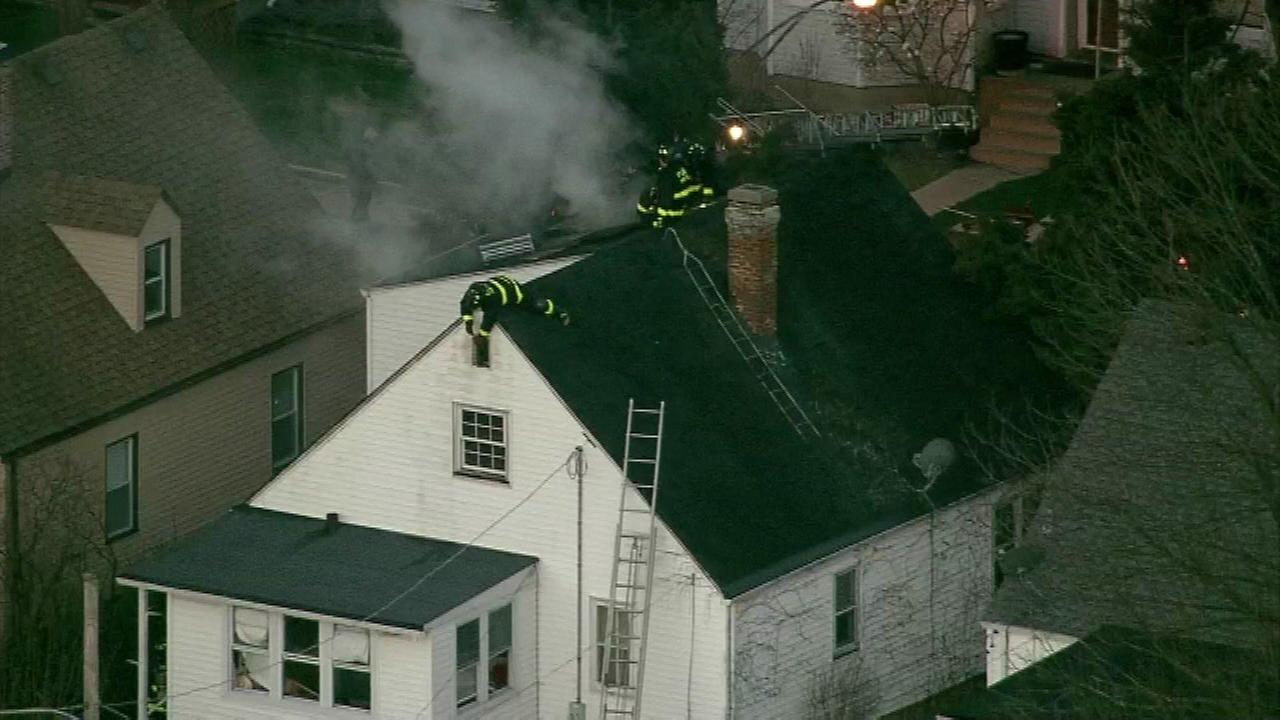 Elderly man pulled from Northwest Side house fire dies