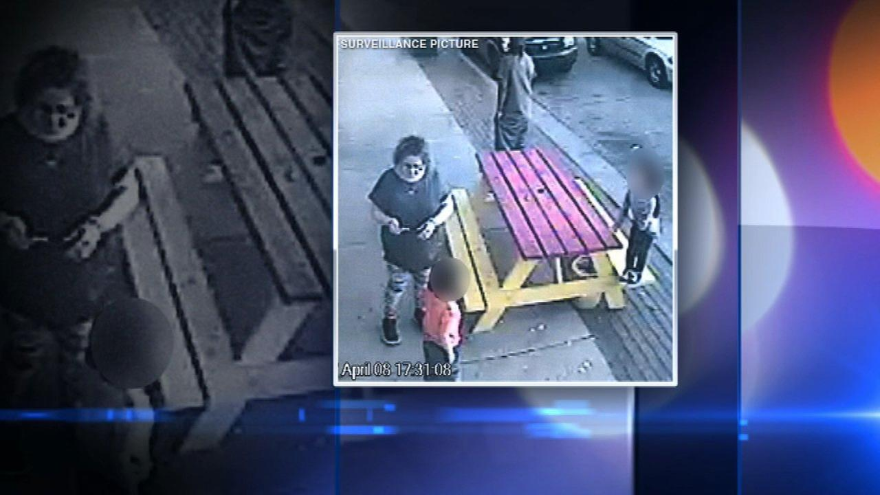 Suspected purse thieves caught on surveillance video