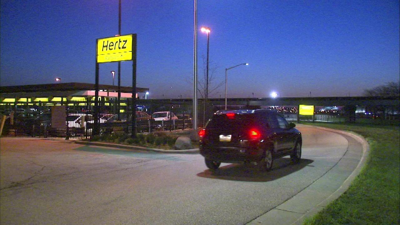 Police: Cars stolen from car rental lot near O'Hare Airport