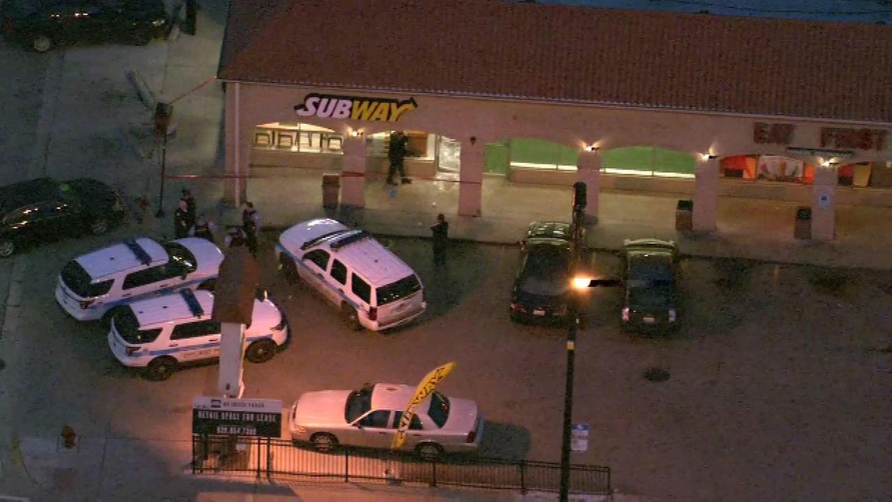Smash-and-grab robber strikes Avondale Subway