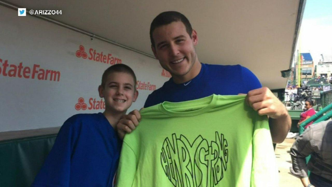 Anthony Rizzo meets Henry Sembdner