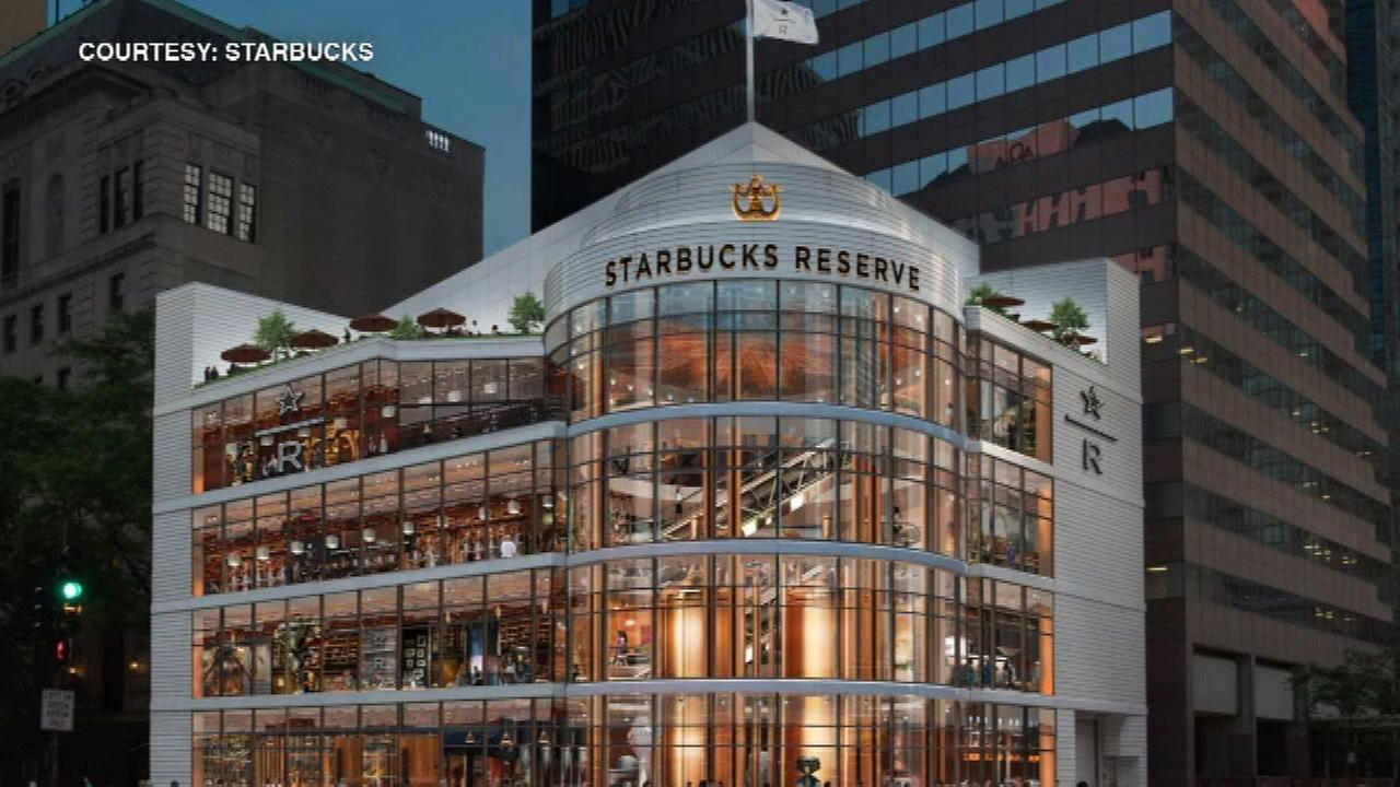Starbucks to open 4-story, 43,000-square-foot tourist attraction in Chicago