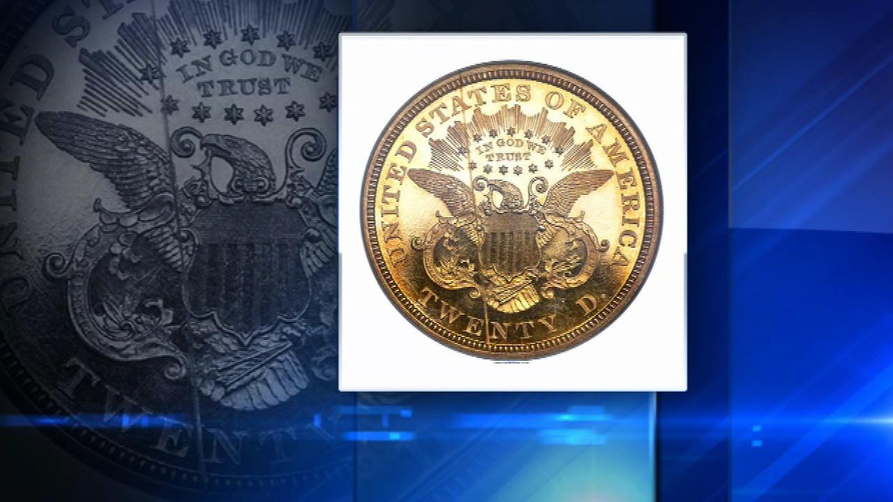 Indiana church's rare coin sells for $517K