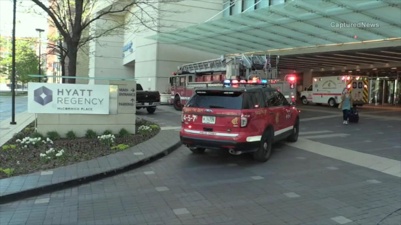 Boy, 5, hospitalized after being pulled from Hyatt Regency McCormick Place pool