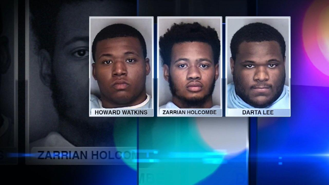 Illini trio arrested on armed robbery charges