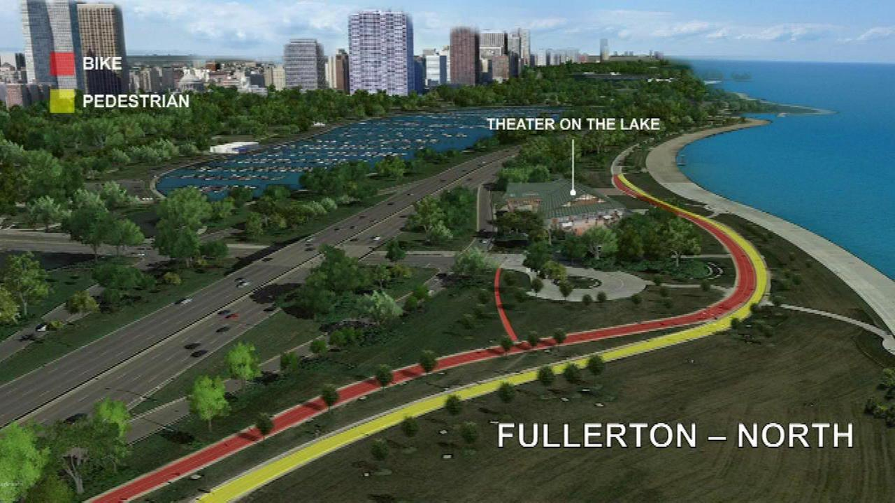 Lakefront Trail separation beginning soon