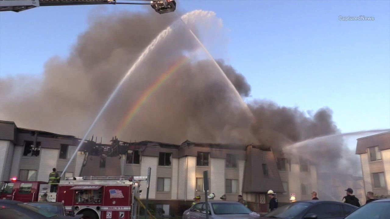 2 Firefighters Injured In Hobart Apartment Complex Fire