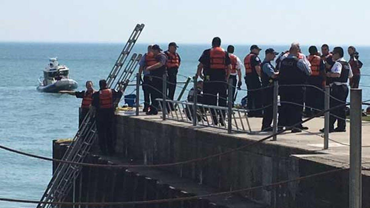 Crews find girl missing in waters of Lake Michigan