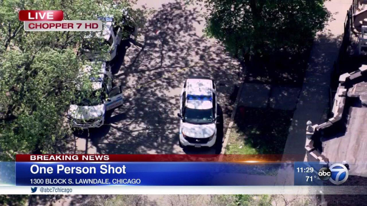 18-year-old shot in North Lawndale