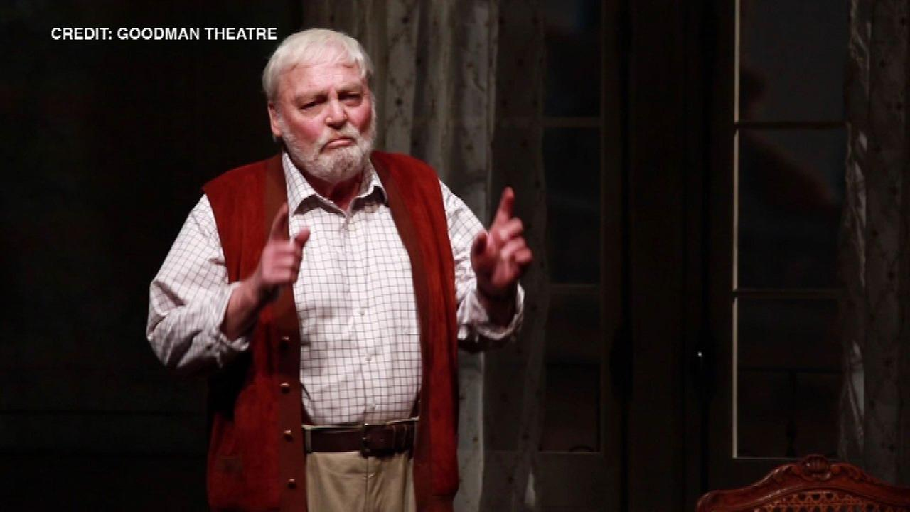 Stacy Keach suffered on-stage heart attack at 'Pamplona' premiere at Goodman