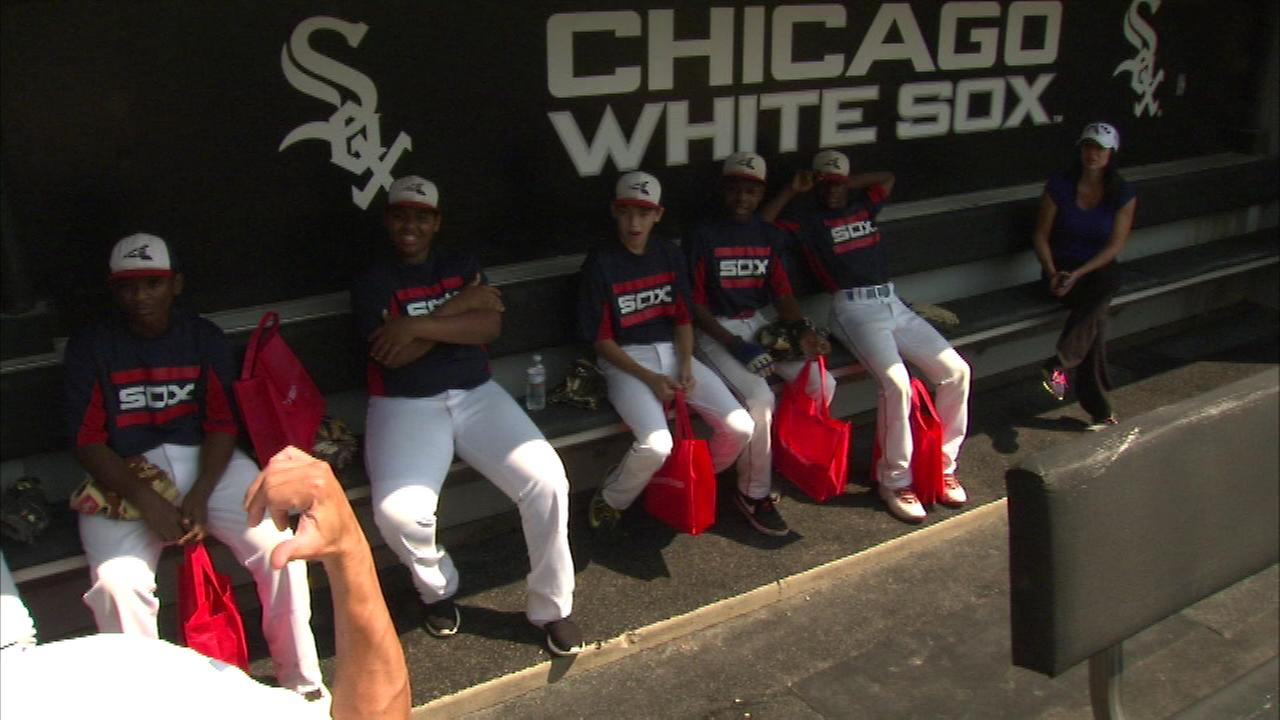The Chicago White Sox hosted more than 20 young athletes with special needs Monday afternoon at U.S. Cellular Field.