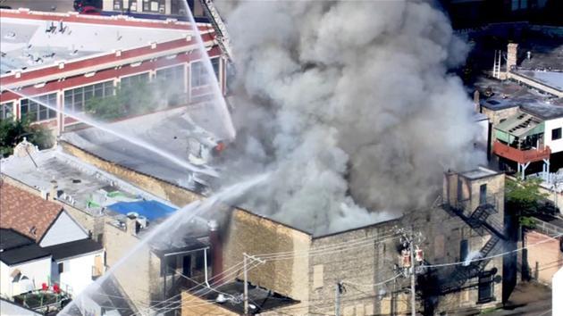 MEC&F Expert Engineers : 3-alarm fire destroys the Famsa