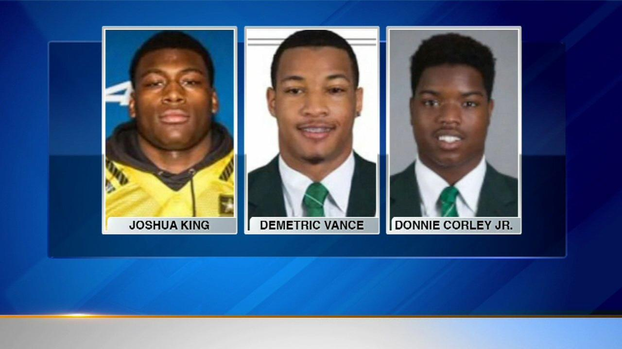 3 Michigan State players charged in campus sexual assault case