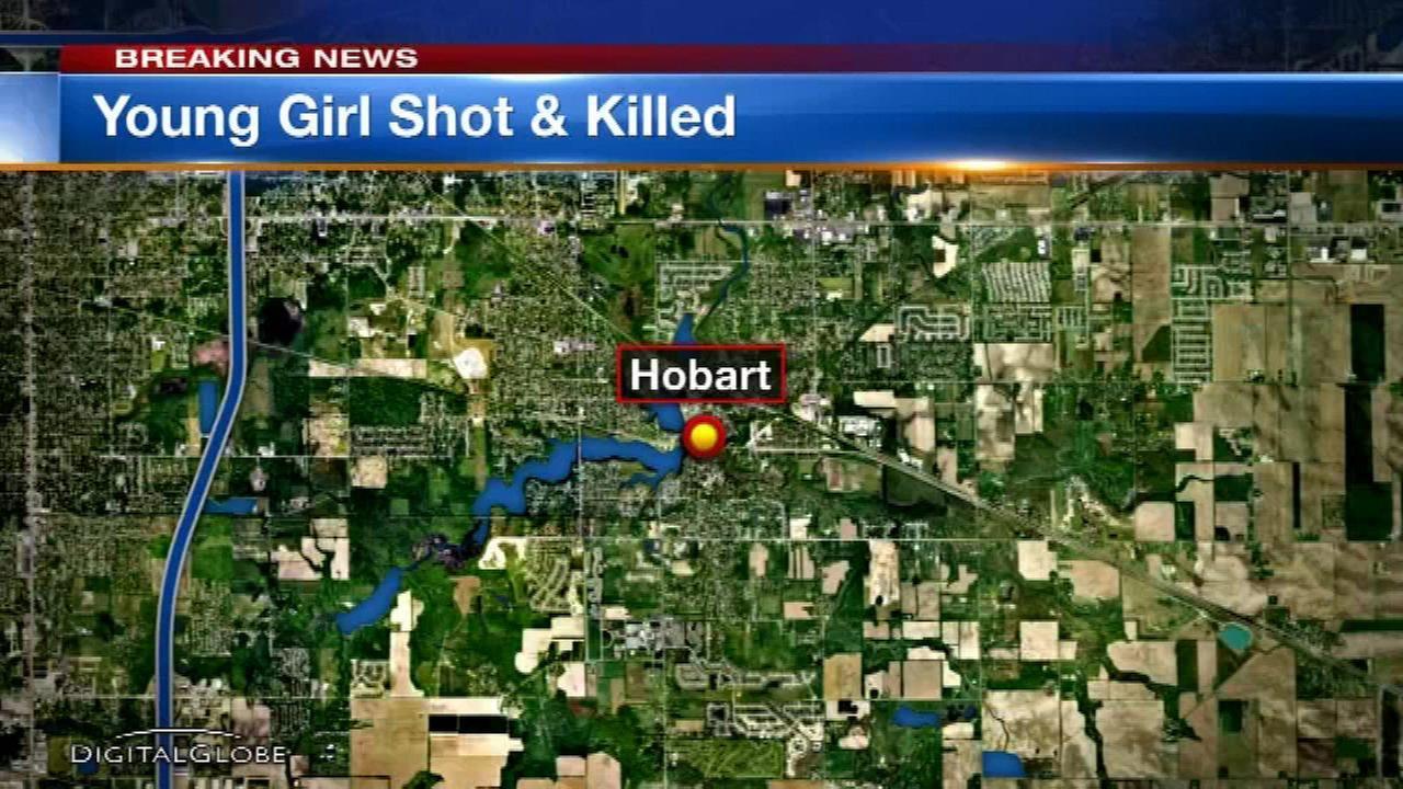 Girl, 9, dies after being shot in head in Hobart, Ind.