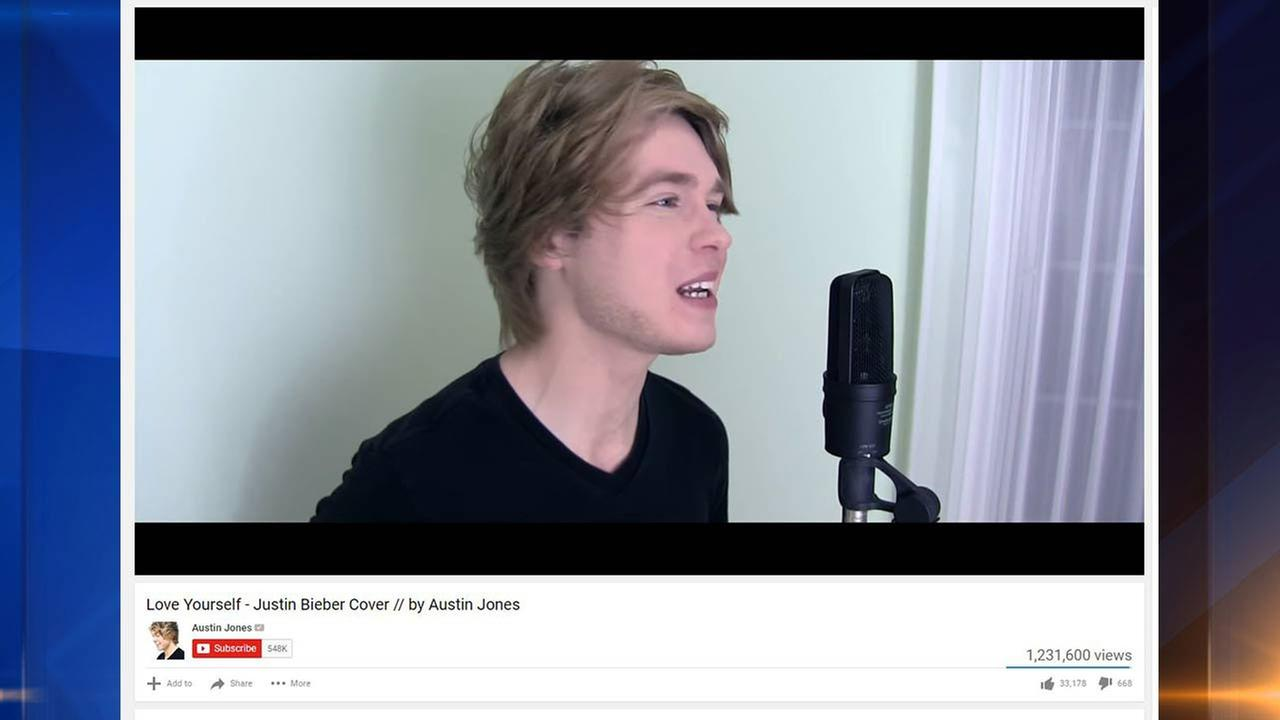 YouTube star Austin Jones arrested on child porn charges