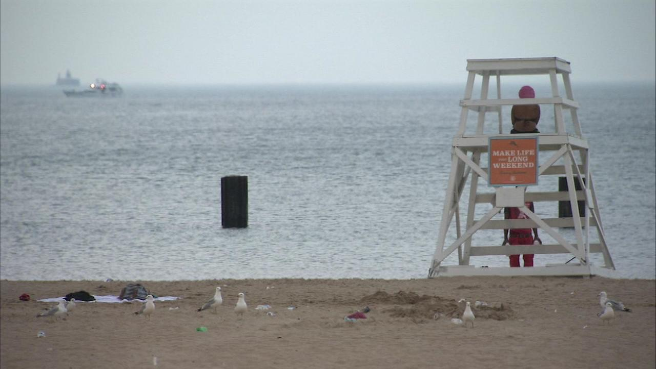 Dangerous conditions are expected the next couple days on Chicago area beaches.