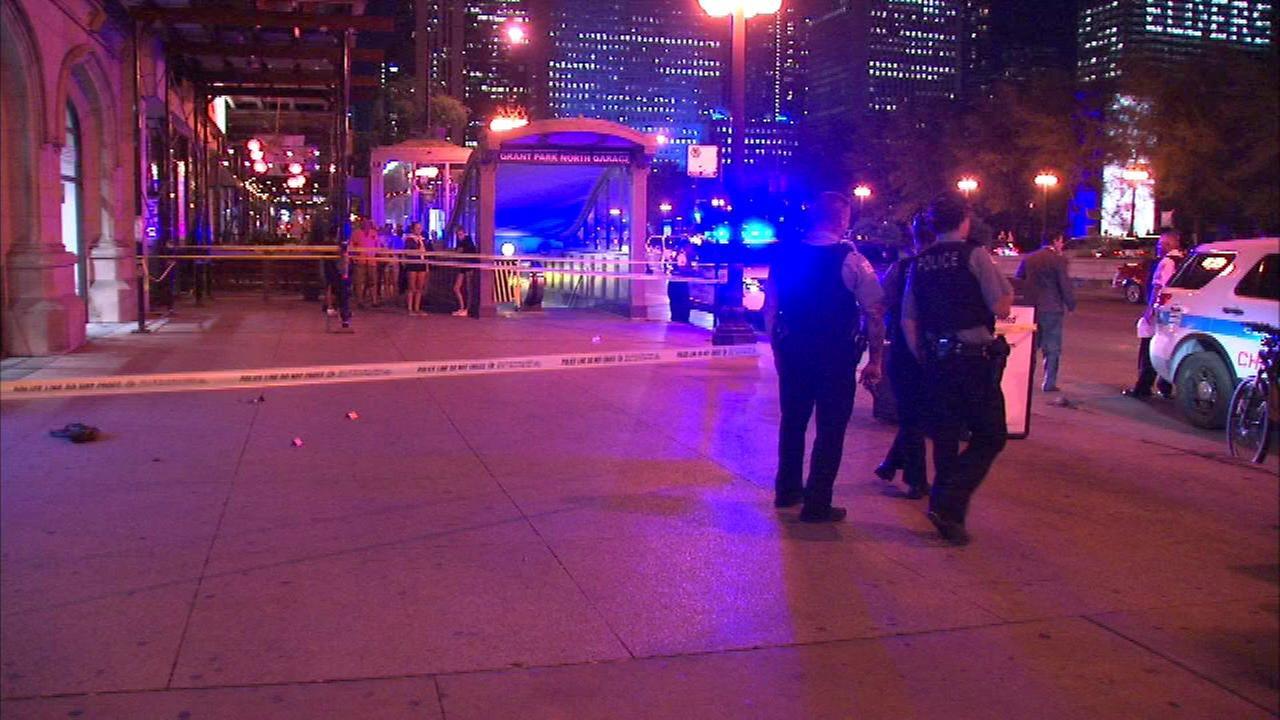 Man, 21, shot near Millennium Park in downtown Chicago