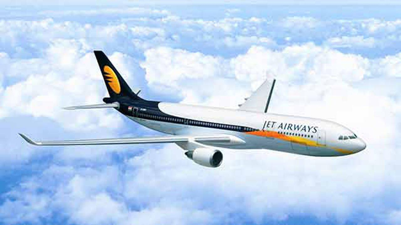 A woman gave birth during a Jet Airways flight from Saudi Arabia to India, so the company gave her son free flight tickets for life. Jet Airways (File Photo)