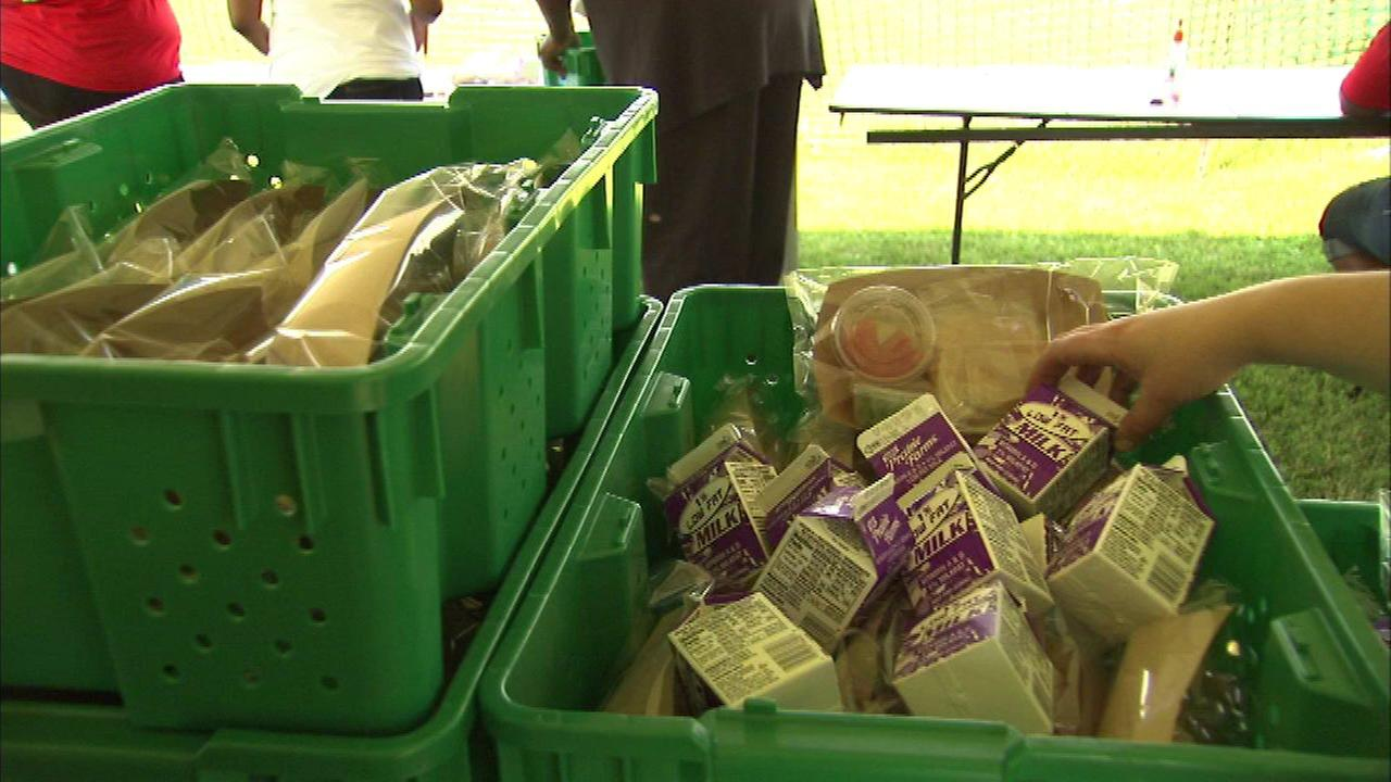 Free summer lunches being served up to kids in need