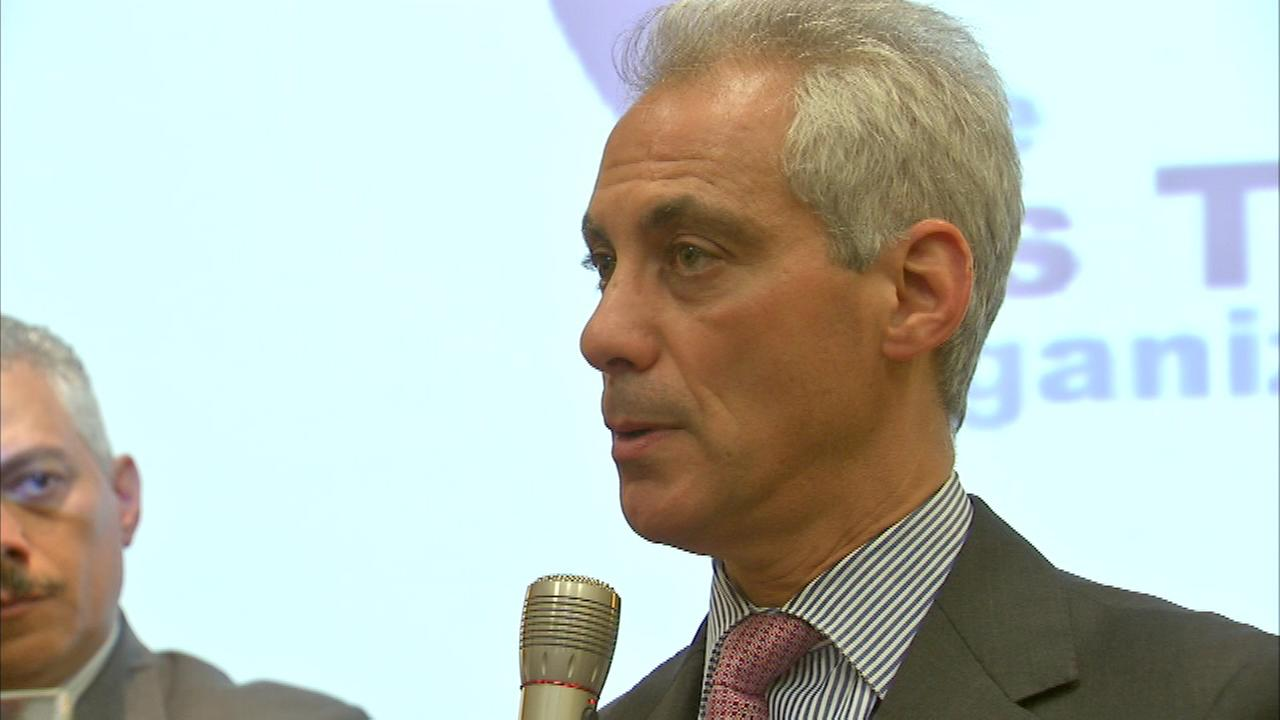 Mayor Rahm Emanuel and Cook County Board President Toni Preckwinkle took part in a fundraiser Wednesday night for a new anti-violence program called TITO.