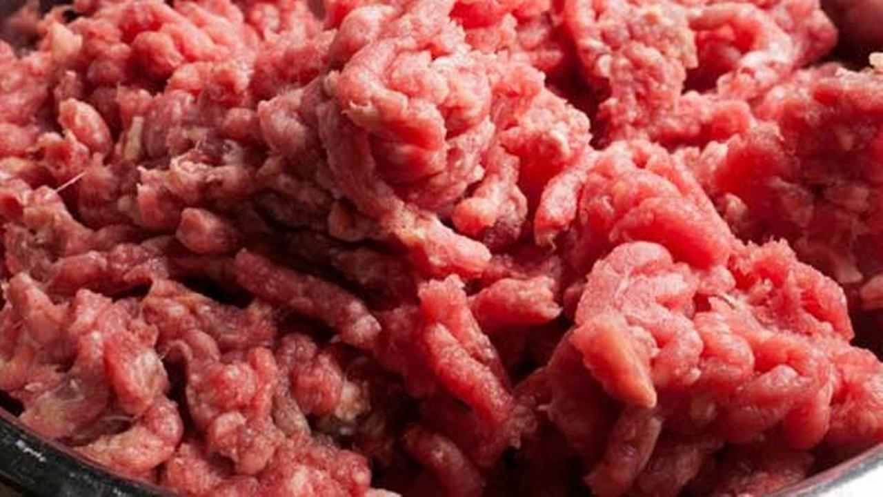 AP image of ground beef.
