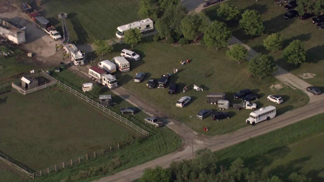 At least 18 horses die in Kendall County barn fire