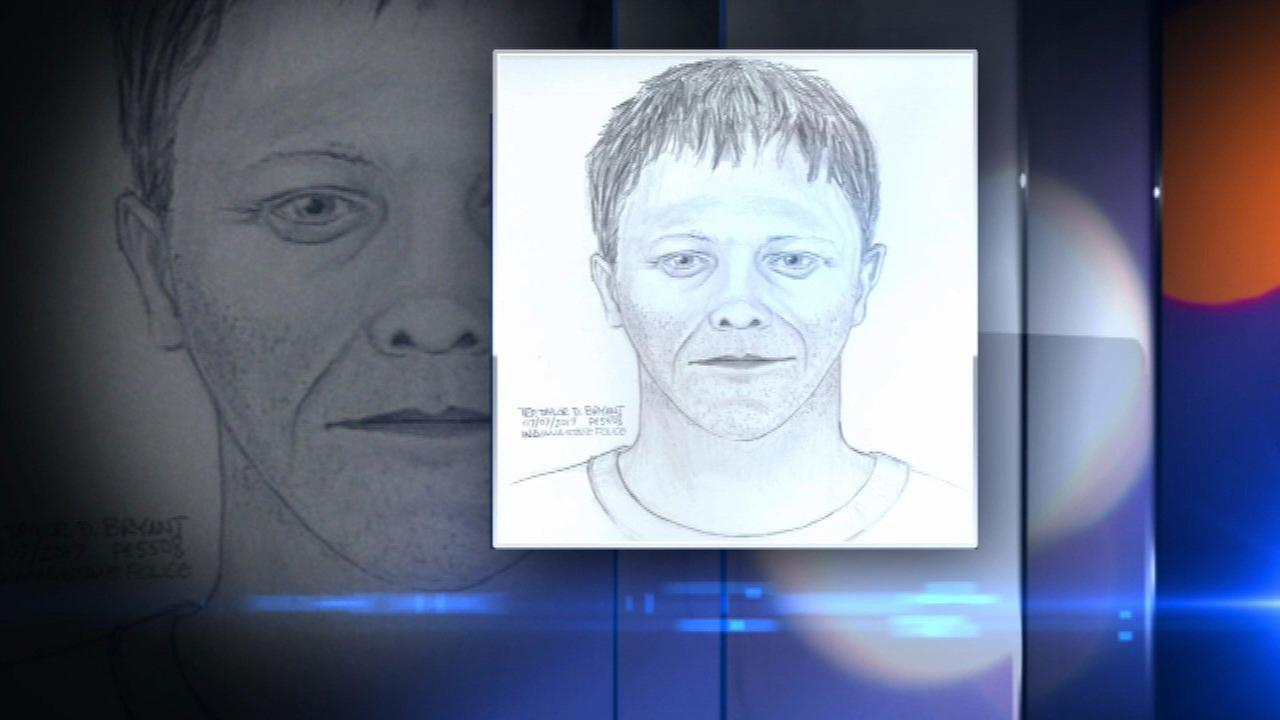 Sketch released of man who allegedly tried to stuff baby in duffel bag