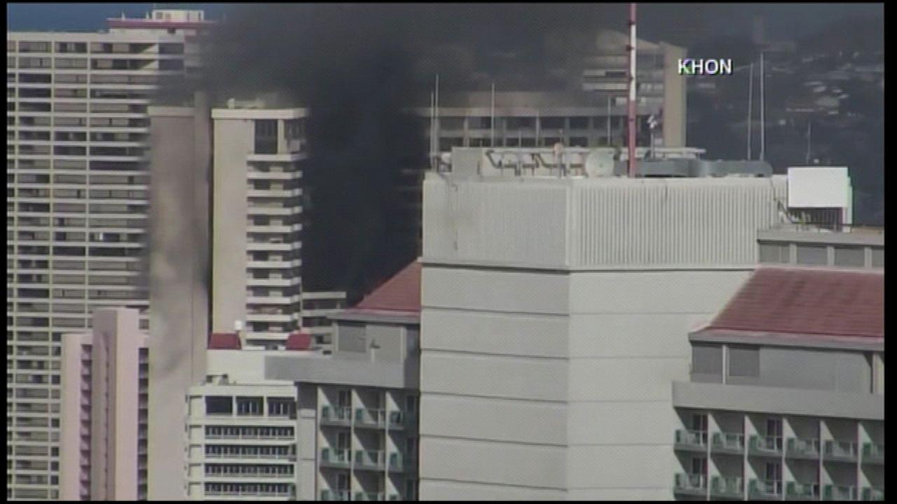 3 dead in fire in Honolulu high-rise apartment building