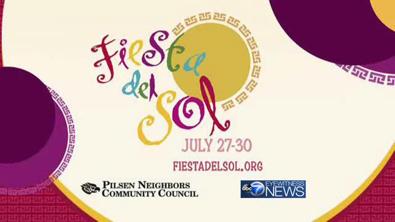 ABC 7 Chicago to sponsor the 45th annual Fiesta Del Sol in Pilsen, July 27 through July 30