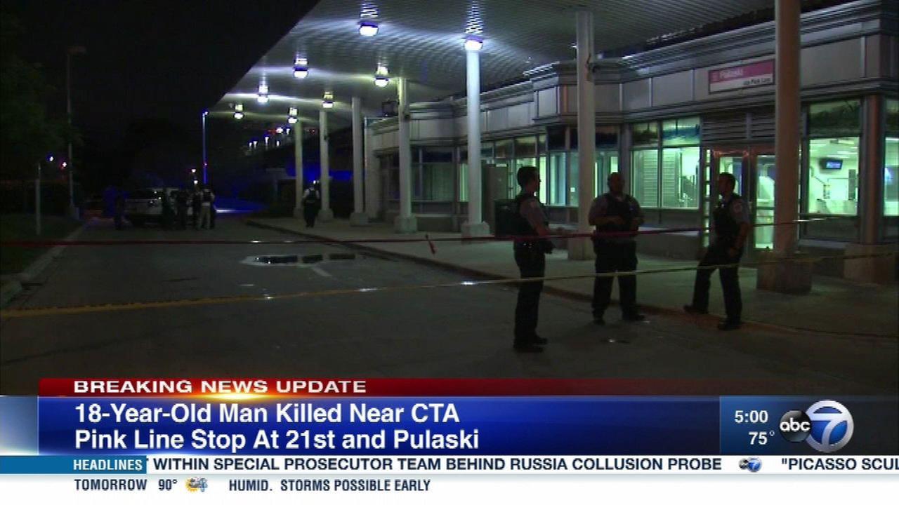 Man shot dead near Lawndale Pink Line station