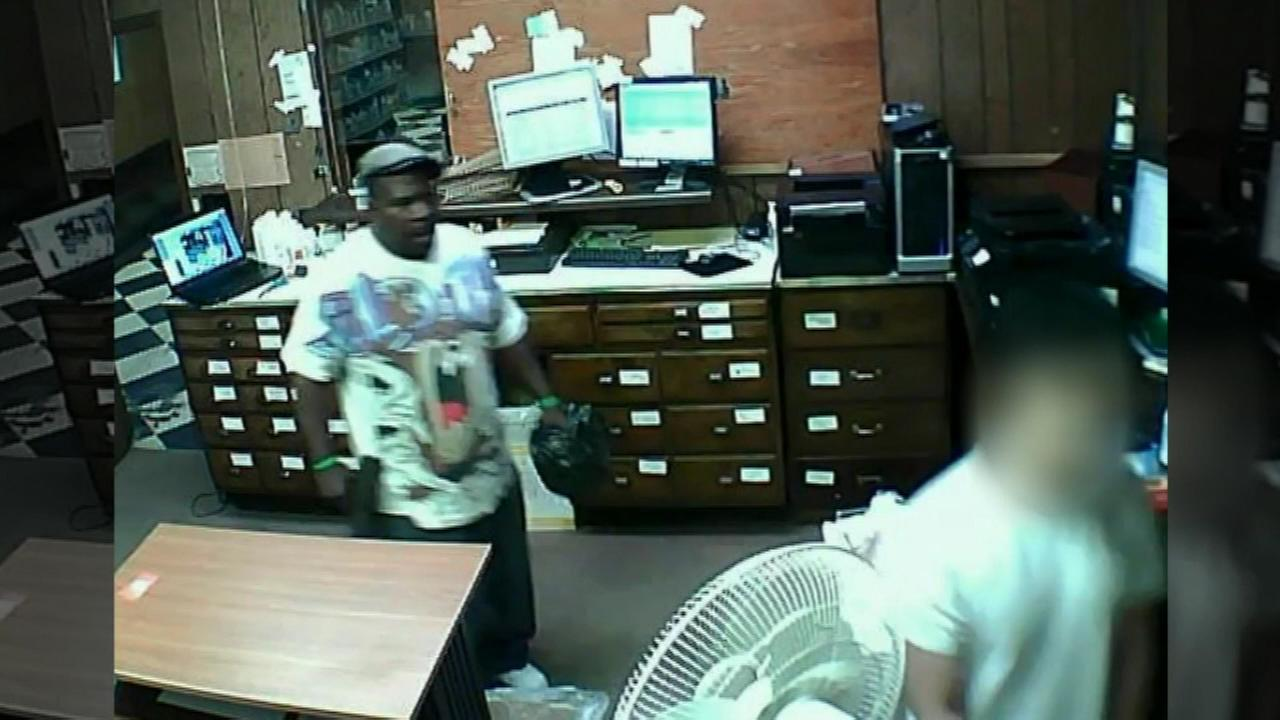 Surveillance video posted on YouTube showed a robbery of a medical clinic on Chicagos West Side Friday afternoon.