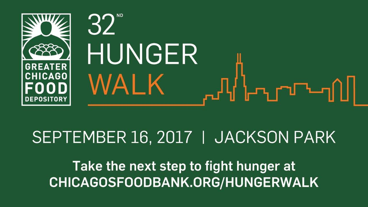 Greater Chicago Food Depository's 32nd Annual Hunger Walk