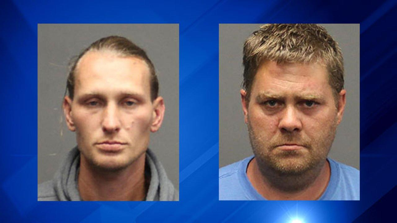 Tobias Rundstrom-Wooding, left, and James Brower, right, were arrested in connection with the death of 11-year-old Jacelyn OConnor, found in Browers rural upstate New York home.