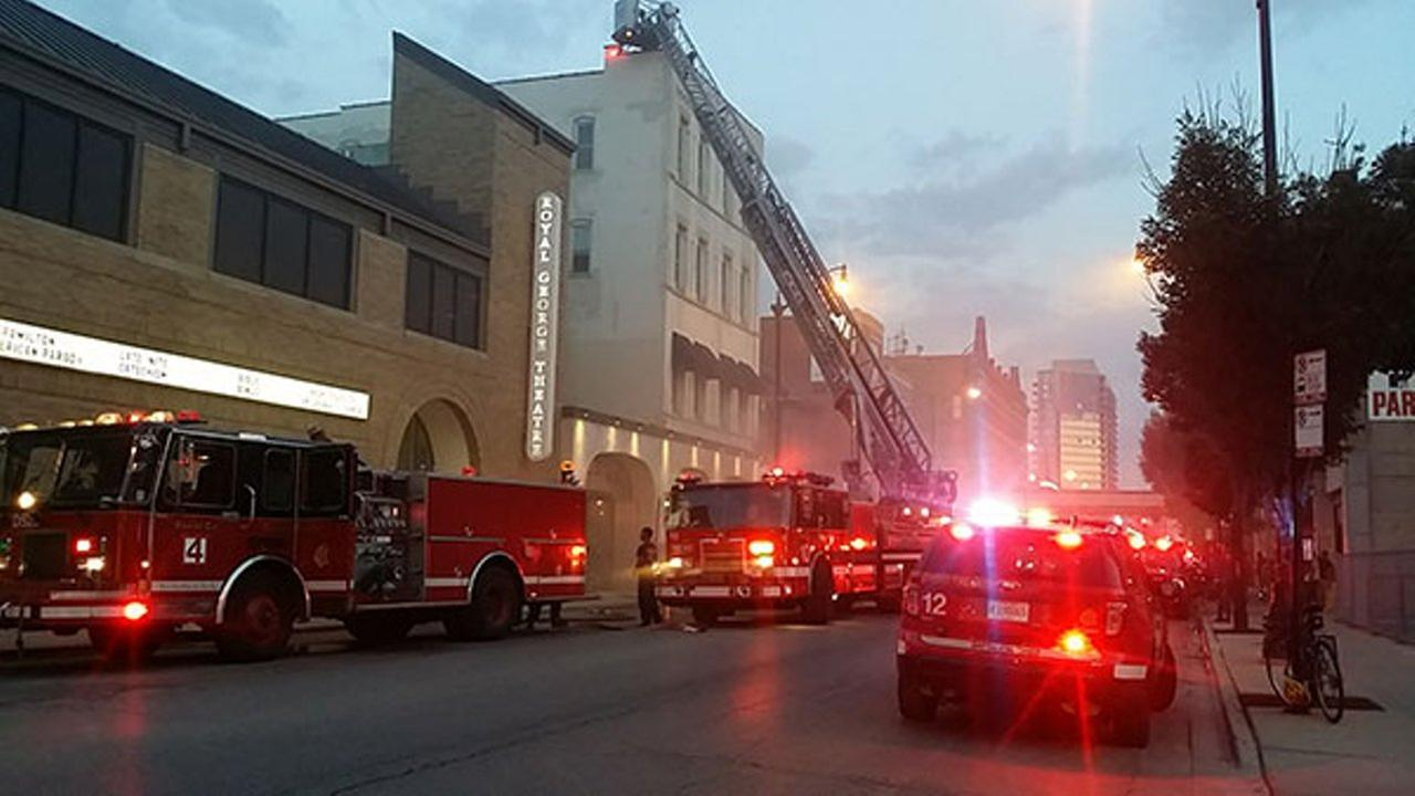 Roof fire spreads at Balena restaurant in Lincoln Park