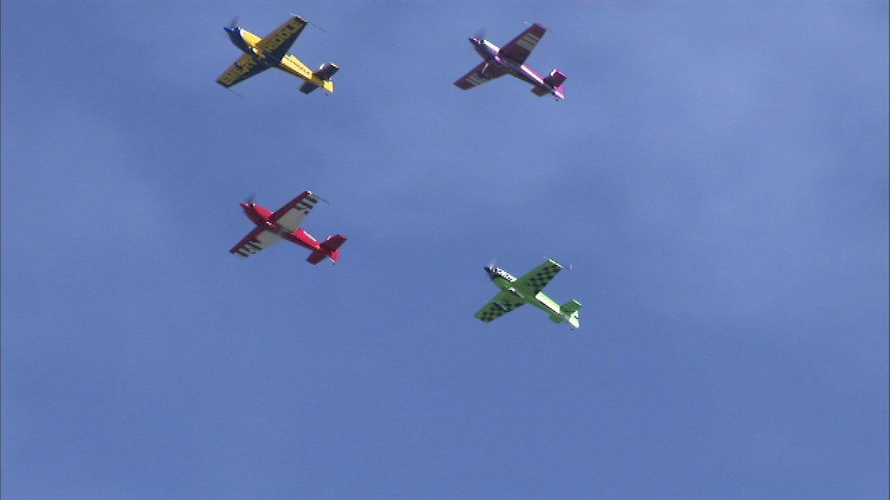 The 2017 Chicago Air and Water Show.