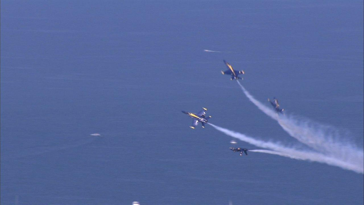 The 2017 Chicago Air and Water Show..