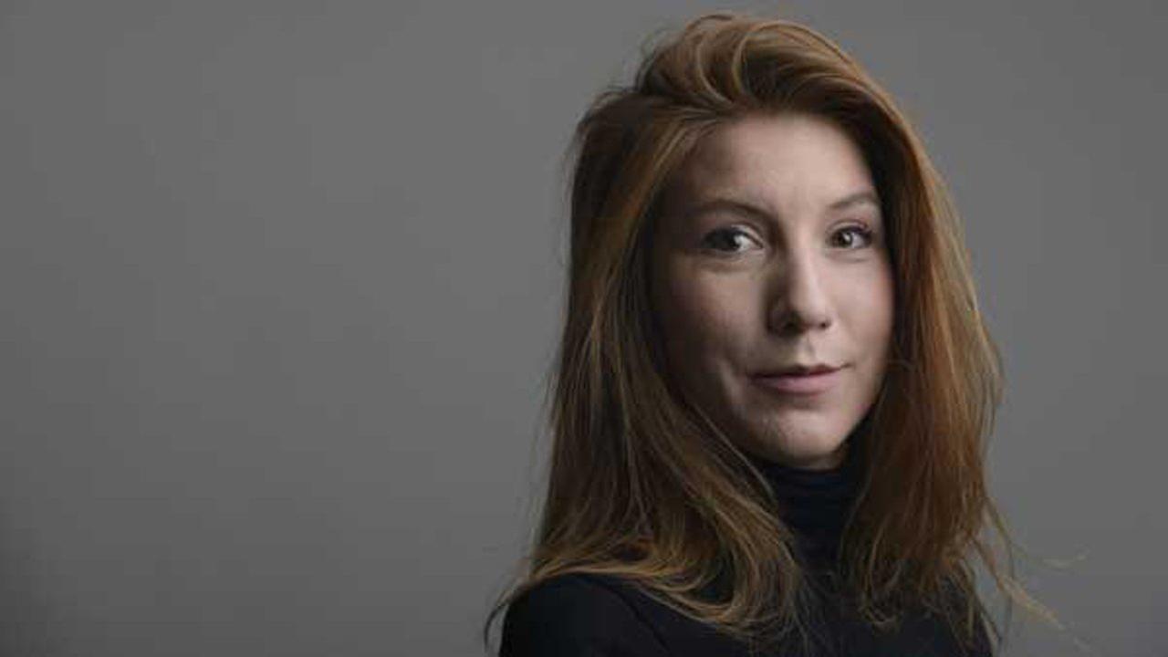 This Dec. 28, 2015 file handout photo portrait of the Swedish journalist Kim Wall taken in Trelleborg, Sweeden.