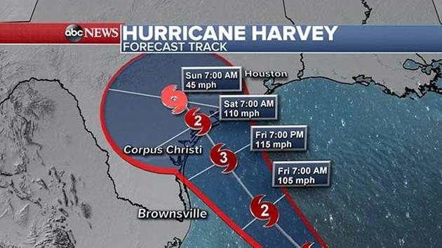 Hurricane Harvey Upgraded From Tropical Storm Houston Braces For - Port of houston map