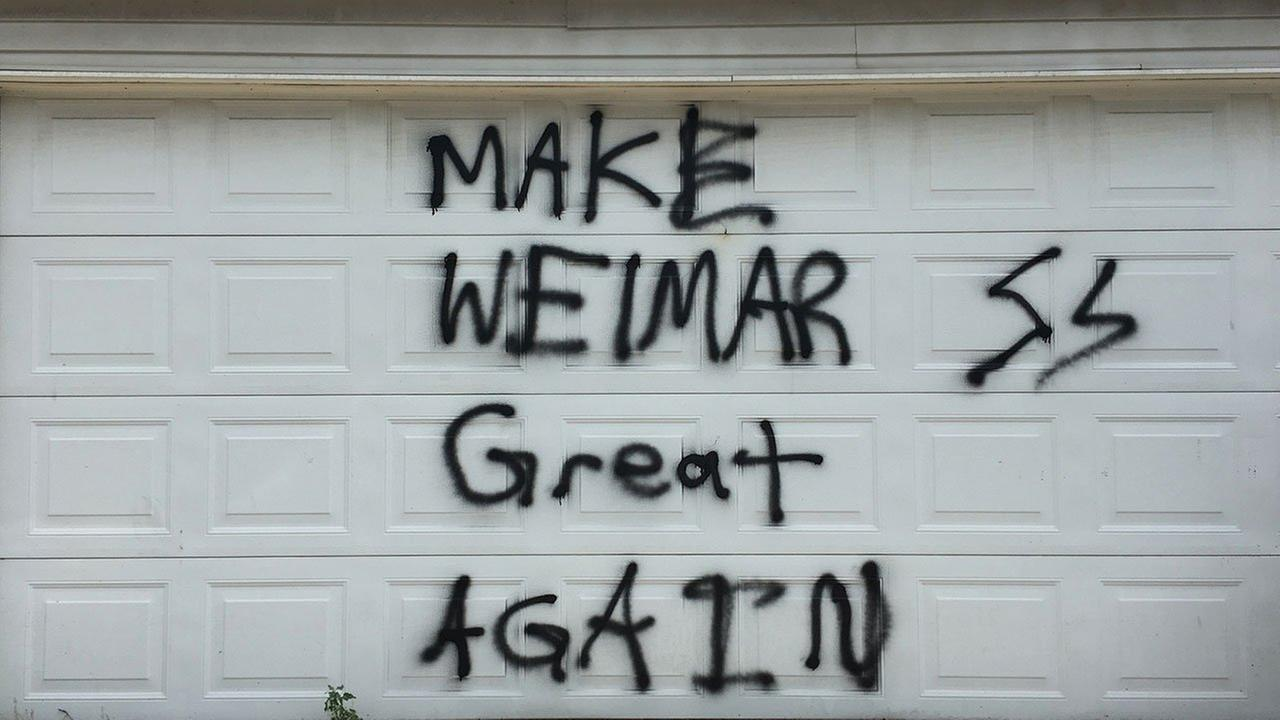 Pro-Nazi graffiti found on Lincoln Square garage